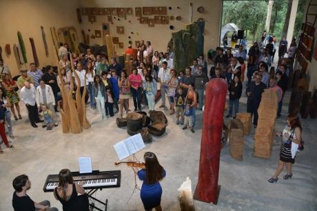 Exposição de Paulo Frade no Mato