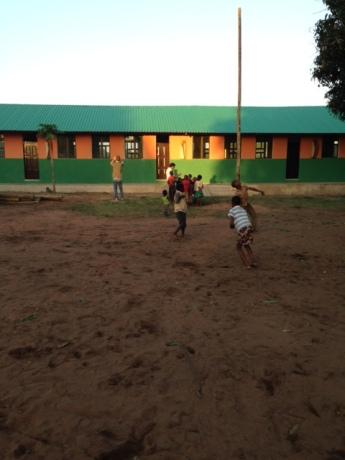 anjos de paulo neves na escola da macia, moçambique: as obras terminadas