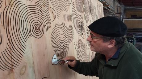 Paulo Neves: Painel em Memória às Vítimas do Aluvião de 2010